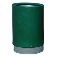 Outdoor Green Open Top Bin 321776