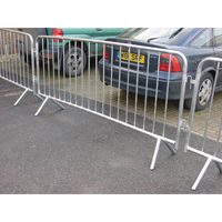 Crowd Ctl Barrier 1120x2470mm 1-4 Silver