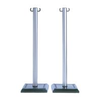 VFM Grey/Black PVC Barrier Post Pk2