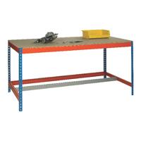 Blue/Orange L1800xW900xD900mm Workbench