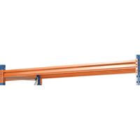 Shelf 25mm Chipboard/Steel Orange 379829