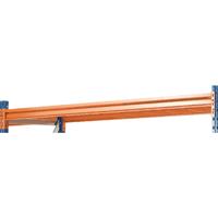 Shelf 25mm Chipboard/Steel Orange 379835