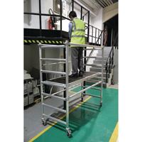 Folding Scaffold 3 Handrail Platform