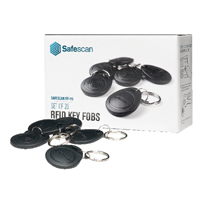 Image for Safescan RF-100 RFID Key Fobs (Pack of 25) 125-0342