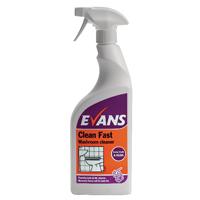 Evans Clean Fast Washroom Cleaner Pk6