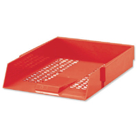 Red Contract Letter Tray WX10055A