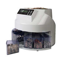 YCR Grey Coin Sorter and Counter Sterling 113-0568