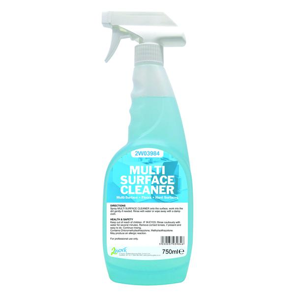 2Work Multi Surface Trigger Spray 750ml 2W03984