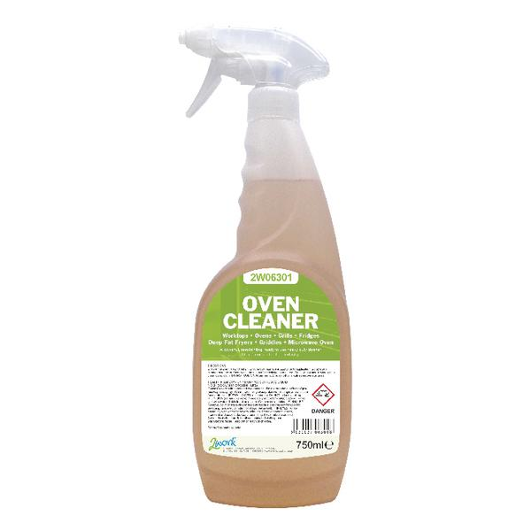 2Work Oven Cleaner Trigger Spray 750ml Ready-to-Use 2W06301
