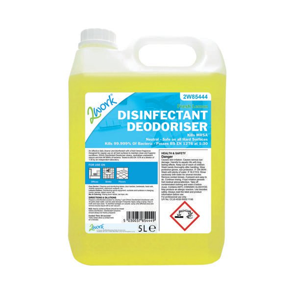 2Work Disinfectant Deodoriser 202