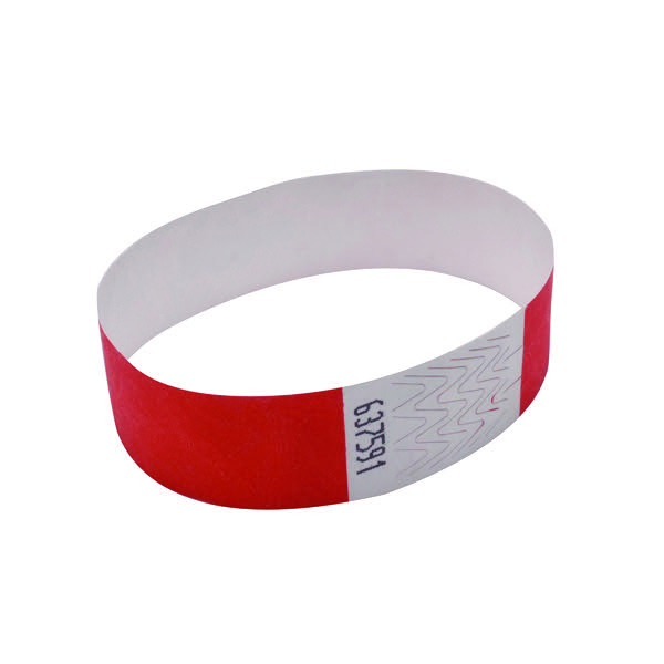 Announce Wrist Bands 19mm Warm Red AA01839
