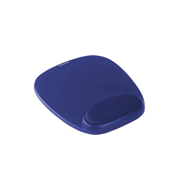 Kensington Foam Mouse Pad with Wrist Support Blue 64271