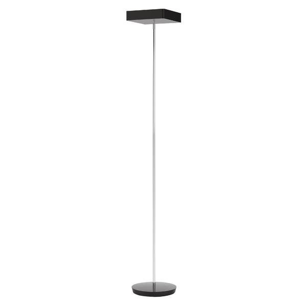 Alba Fluosquare Floor Lamp Black FLUOSQUARENUK