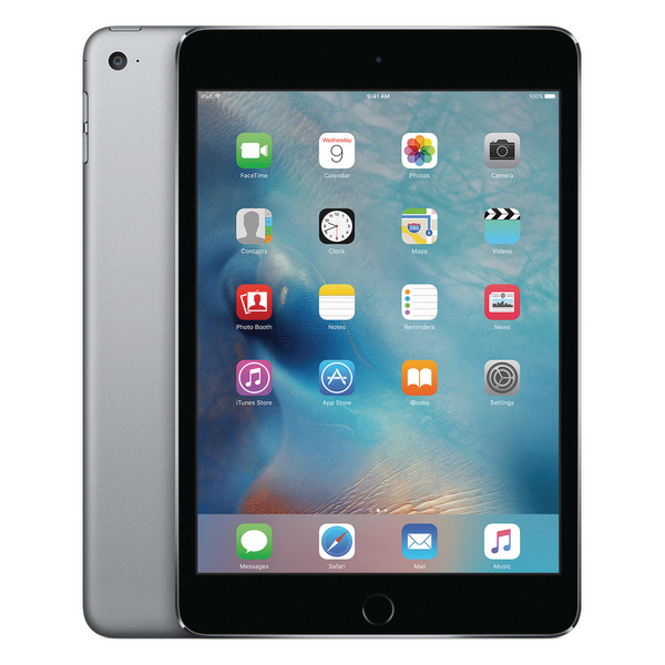 Apple 7.9inch iPad Mini 4 Wi-Fi 128GB Space Grey MK9N2B/A