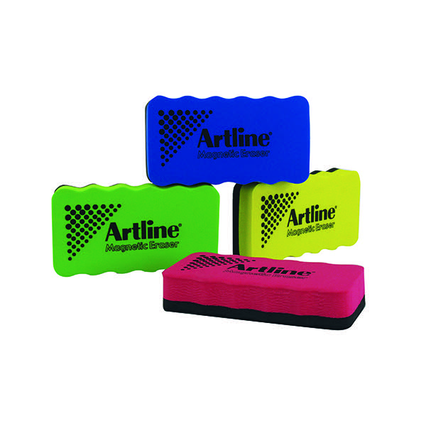 Artline Assorted Smiley Whiteboard Erasers (Pack of 4) ERT-mmS-GB4