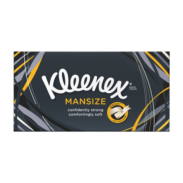 Kleenex White Mansize Tissues (Pack of 90) 3719030