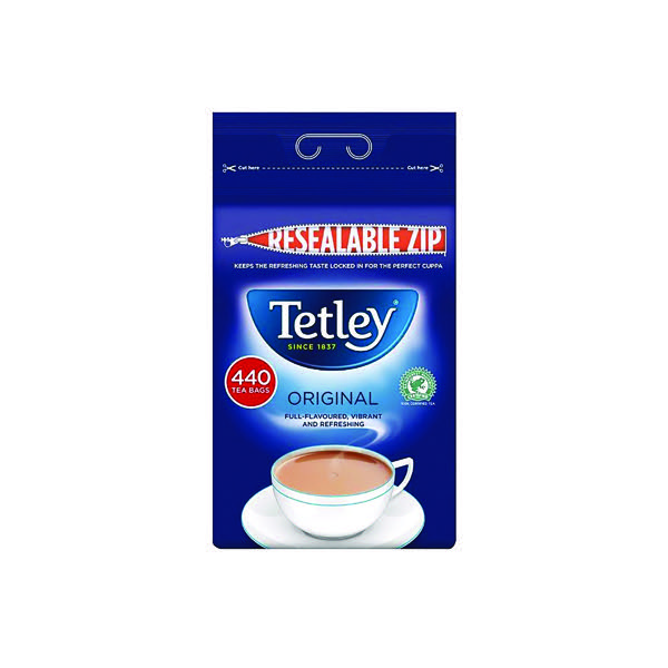 Tetley One Cup Tea Bag Pk 440 1054J