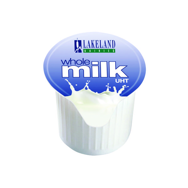 Lakeland Full Fat Milk Pots Pk 120 A01982