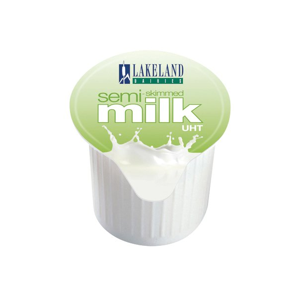 Lakeland Semi-Skimmed Milk Pots (Pack of 120) A00879