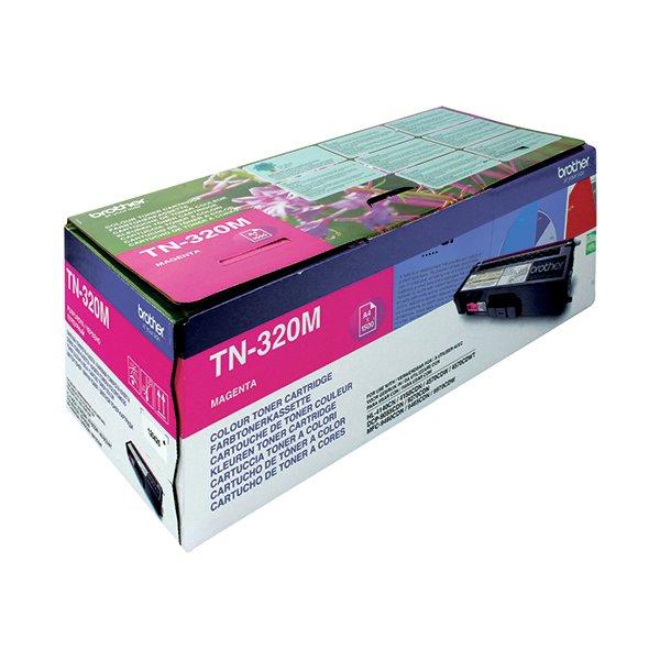 Brother Magenta Laser Toner Cartridge TN320M