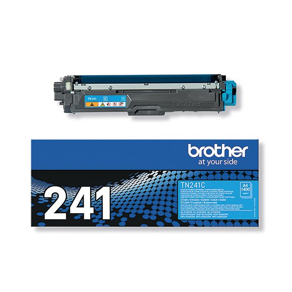 Brother TN-241C Cyan Laser Toner Cartridge TN241C