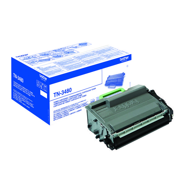 Brother TN-3480 / TN3480 Black Toner
