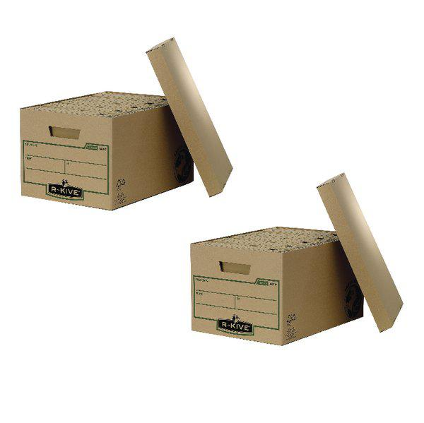 Fellowes Earth Series Large Storage Box (2 Packs of 10) BB810444