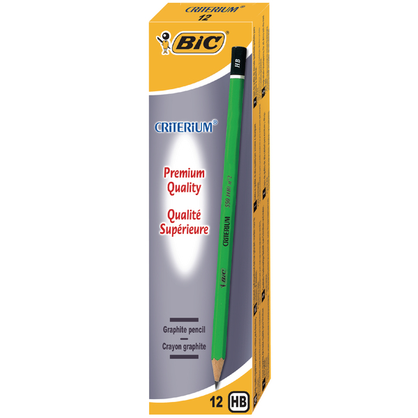Bic Criterium HB Pencil (Pack of 12) 857595