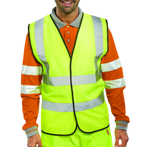 Proforce High Visibility Vest Class 2 Large Yellow HV08YL-L