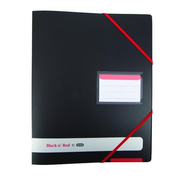 Black n Red A4 Plus Ring Binder 16mm (Pack of 2) BX810414