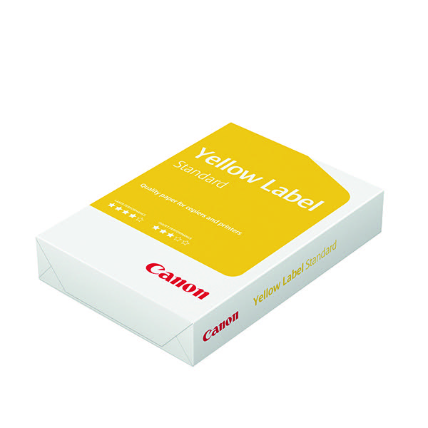 Canon Yellow Label Standard ECF A3 Paper 80gsm (Pack of 500) 96600553
