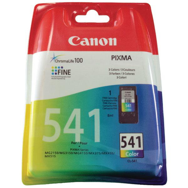 Canon CL-541 Colour Inkjet Cartridge Cyan/Magenta/Yellow 5227B005
