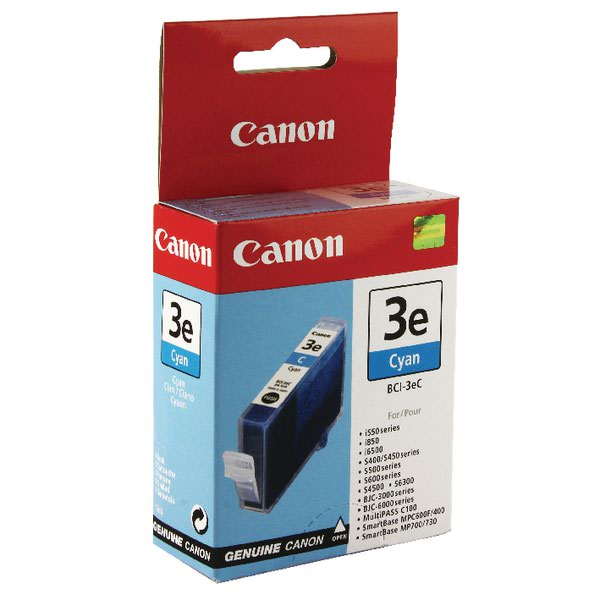 Canon BCI-3eC Cyan Inkjet Cartridge