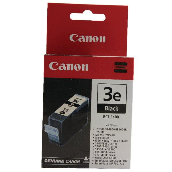 Canon BCI-3eBK Black Inkjet Cartridge
