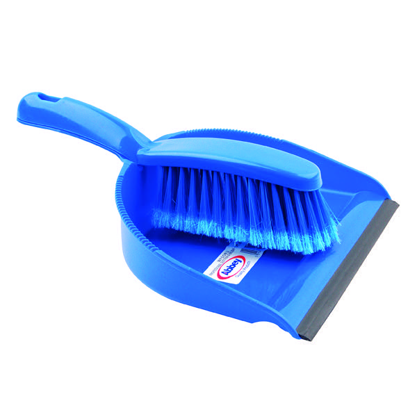 Dustpan and Brush Set Blue 8011/B