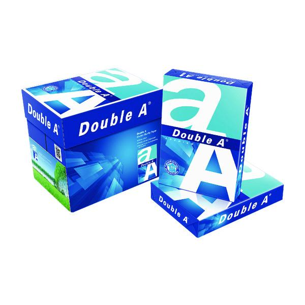 Double A White Premium A4 Paper 80gsm 500 Sheets (Pack of 2500) 3613630000059
