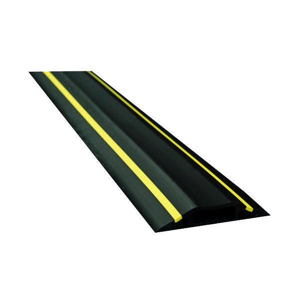 D-Line Blk/Ylw Hazard Cable Cover 1.8m