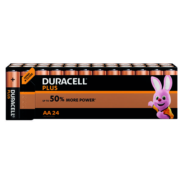 Duracell Plus AA Battery (Pack of 24) 81275383
