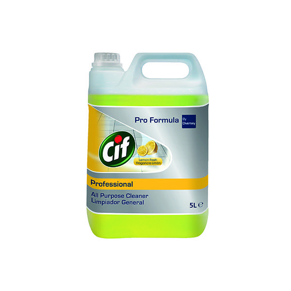 Cif Professional All Purpose Cleaner Lemon 5 Litre 7517879