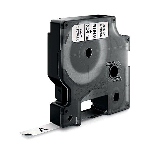 Dymo Black on White 1000/5000 D1 Standard Tape 9mmx7m S0720680