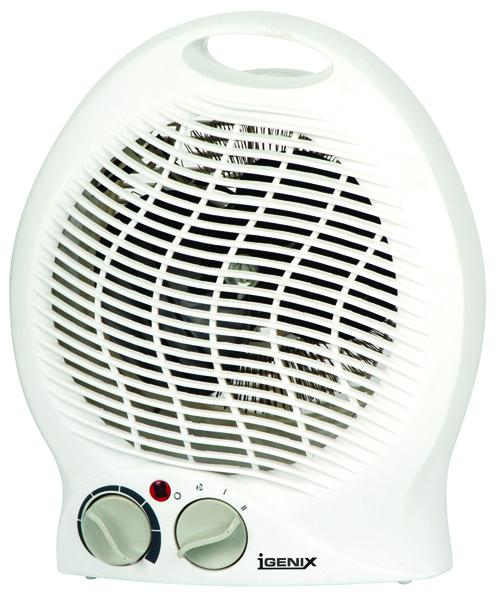 Igenix 2kw Upright Fan Heater White Ig9020