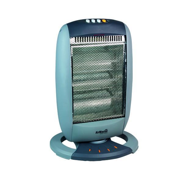 Halogen 1200W Heater (3 Halogen Heat Bars and 3 Heat Settings) CRHH120/H