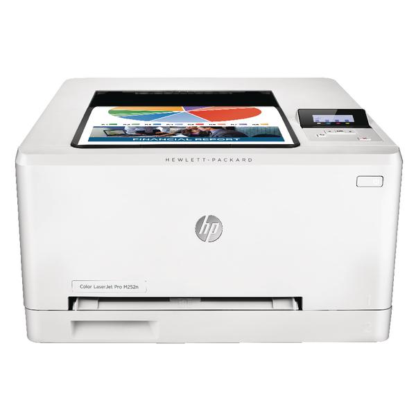 HP Color Laserjet Pro M252n Printer White B4A21A