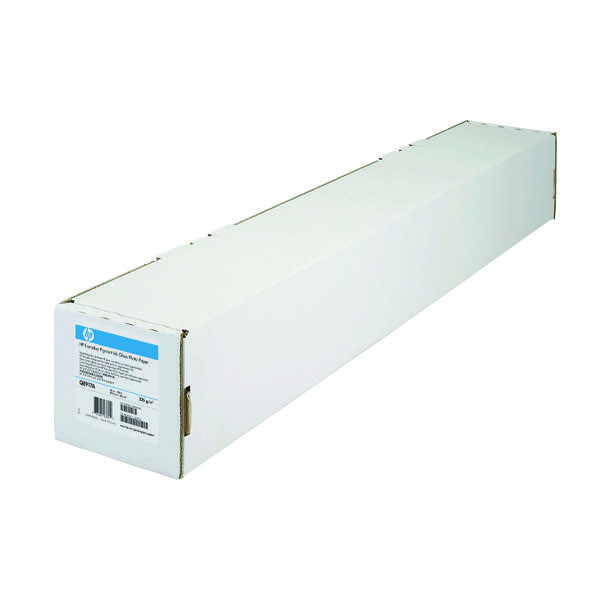 HP Bright White Inkjet Paper 610mm x45m 90gsm C6035A