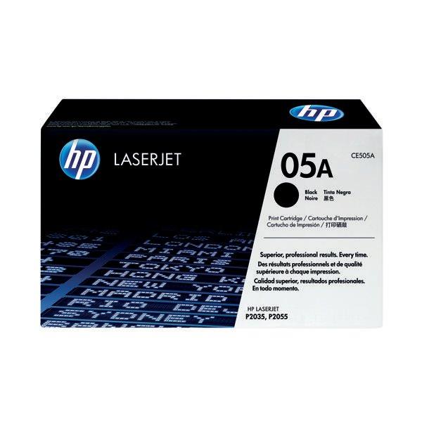 HP 05A Black Laserjet Toner Cartridge CE505A