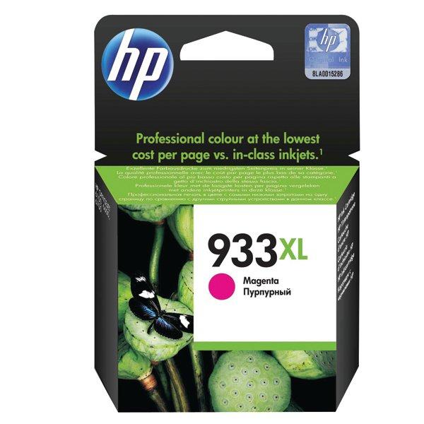 HP 933XL Magenta Officejet Inkjet Cartridge CN055AE