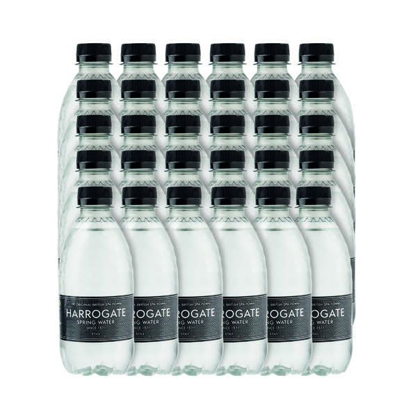 Harrogate Still Spring Water 330ml Plastic Bottle (Pack of 30) P330301S