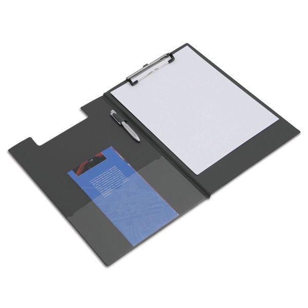 Rapesco Foldover Clipboard Foolscap Black VFDCB0L3