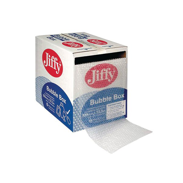 Jiffy Bubble Box Roll 300mm x50m Clear JB-BOX