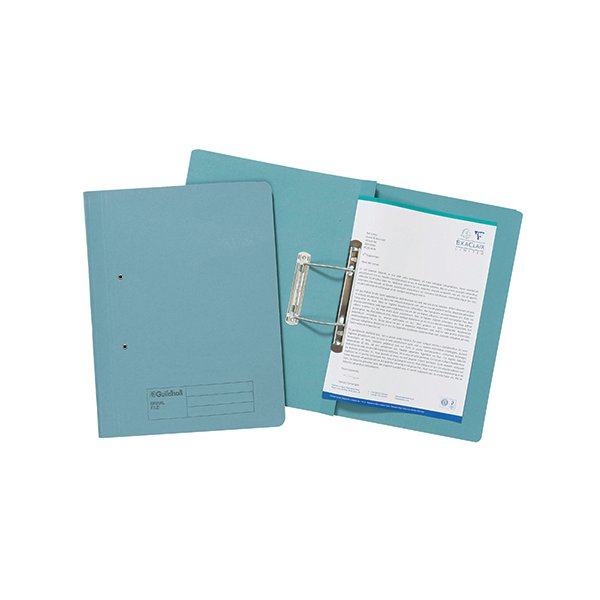Guildhall Foolscap Blue Transfer File (Pack of 25) 346-BLUZ
